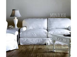 Salas modernas de Mona Casa Moderno