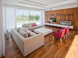 Modern Oturma Odası VISMARACORSI ARQUITECTOS Modern