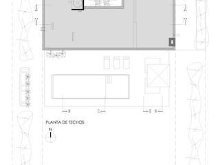 Casa C Puerto Roldan:  de estilo  por VISMARACORSI ARQUITECTOS