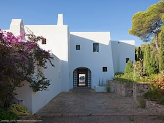 Cala Llentrisca Casas de estilo rural de Rios-Casariego Arquitectos Rural