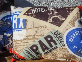 Dekokissen Reisen:   von Auszeit Kreativ- und Näharbeiten