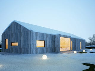 Projekty domów - House 26 Majchrzak Pracownia Projektowa Nowoczesne domy