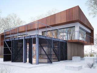 Projekty domów - House x07 Majchrzak Pracownia Projektowa Nowoczesne domy