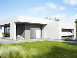 Projekty domów - House 11.1 Majchrzak Pracownia Projektowa Nowoczesne domy