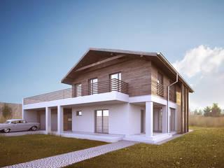Projekty domów - House 10.2 Majchrzak Pracownia Projektowa Nowoczesne domy