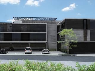 Departamentos Punto Bruselas Casas modernas de AD ARQUITECTOS Moderno