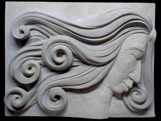 Beeldhouwerij van Velzen ArtworkSculptures Sandstone Grey