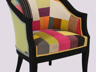 Colour Block Chair:   by Studio180°