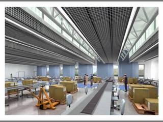 Sede para la Fundación Arco Iris Estudios y despachos de estilo moderno de Gesarquitectos Moderno