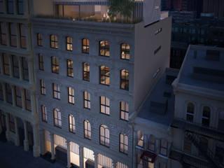 71 Street NY Casas modernas: Ideas, imágenes y decoración de Let´s Go Moderno