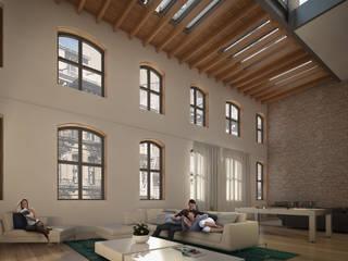 71 Street NY Livings modernos: Ideas, imágenes y decoración de Let´s Go Moderno