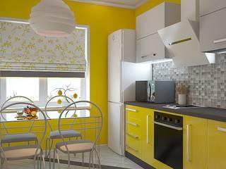 Cocinas de estilo  por Дизайн студия Жанны Ращупкиной