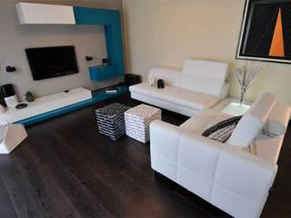 Appartamento a Torino Soggiorno moderno di Alma Moderno