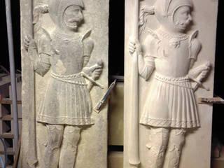 Beeldhouwerij van Velzen ArtworkSculptures Limestone