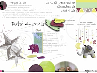 @Conseil Décoration - Chambre Bébé fille - Meurthe-et-Moselle (54):  de style  par dEEEco