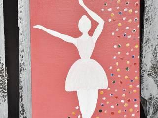 Obrazek Baletnica: styl , w kategorii  zaprojektowany przez Miss Vintage