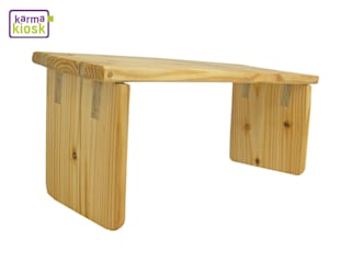 Meditationsbank aus recyceltem Holz:   von karmakiosk
