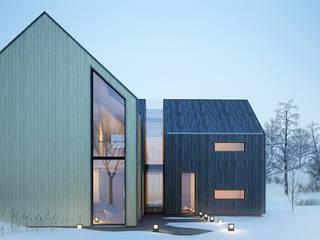 Projekty domów - House x03 Majchrzak Pracownia Projektowa Nowoczesne domy