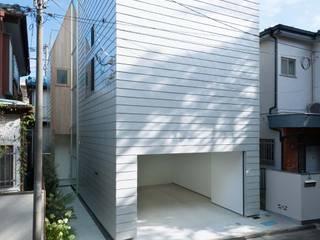 ディンプル建築設計事務所 Maisons modernes Fer / Acier Blanc