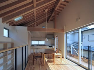 小平の家 FuruichiKumiko ArchitectureDesignOffice モダンデザインの リビング