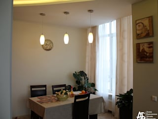 """квартира на 120 кв.м в ЖК """"Французский"""": Столовые комнаты в . Автор – Алина Березинская"""