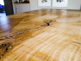English Oak Dining Table: country  by Workshop Interiors, Country