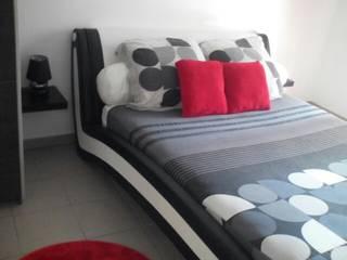 T3 57m² Chambre moderne par Agence 3Dimensions Moderne