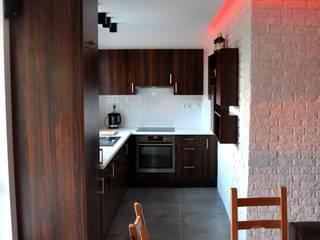 Mieszkanie 55m2 na Osiedlu pod Wierzbami w Dąbrowie Górniczej: styl , w kategorii Kuchnia zaprojektowany przez Ale design Grzegorz Grzywacz