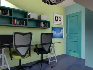 T3 70 m² Chambre d'enfant moderne par Agence 3Dimensions Moderne