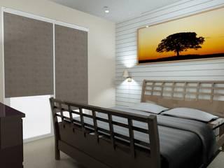 T3 70 m² Chambre moderne par Agence 3Dimensions Moderne