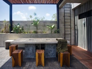 Casa T Salones modernos de Studio Arquitectos Moderno