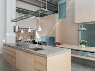 The Workshop Henning Stummel Architects Ltd Cocinas de estilo moderno