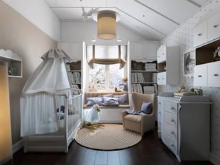 Таунхаус в г.Краснодар: Детские комнаты в . Автор – Design Studio Details
