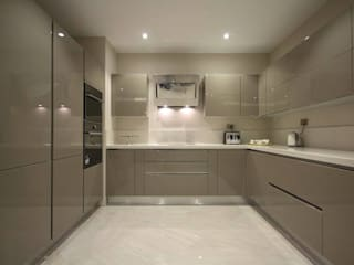 Merve Demirel Interiors – Nu Teras : modern tarz , Modern