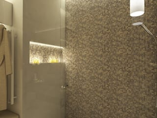 Luxusbadezimmer SPA: modern  von Perfecto design ,Modern