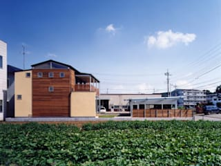 ガレージのある家: 池野健建築設計室が手掛けた家です。