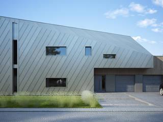 Projekty domów - House x08 Majchrzak Pracownia Projektowa Nowoczesne domy