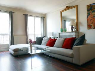 Salon Haussmanien: Salon de style de style Classique par Bulles Concept - Visualisation & Personnalisation de votre intérieur