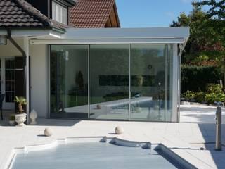 Moderne Wohnraumerweiterung :  Terrasse von Blaser exclusive Wintergardens