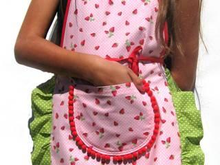"""""""Miss Erdbeere""""- Kinderschürze:   von Primatoma"""