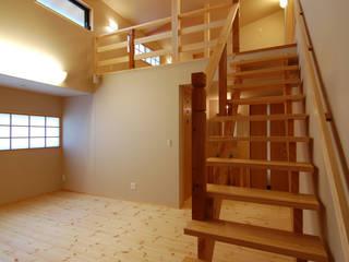 Phòng ngủ theo 今村建築一級建築士事務所, Châu Á