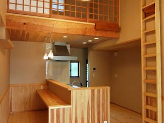 Nhà bếp theo 今村建築一級建築士事務所, Châu Á