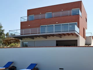 Houses by SAMF Arquitectos, Modern