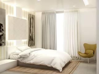 Pisos y viviendas Dormitorios de estilo clásico de Estudio Francis de la Rosa Clásico