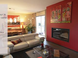 Maison contemporaine Salon moderne par Happy Family-Deco Moderne