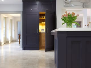 Zofia limestone floor in a honed finish from Artisans of Devizes. :  Kitchen by Artisans of Devizes