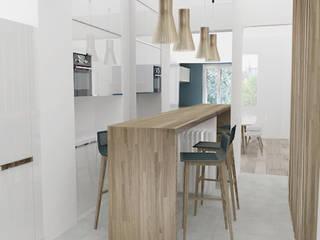 Cocinas de estilo minimalista por Yeme + Saunier