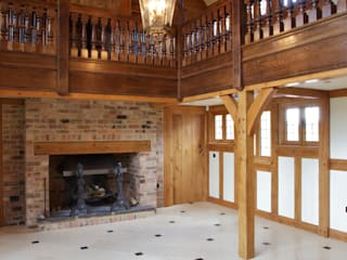 Private Residence - Essex Country style walls & floors by Artisans of Devizes Country