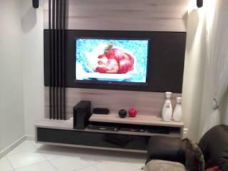 Closet Prestige Salas de estar modernas por Prestige Móveis Planejados Moderno