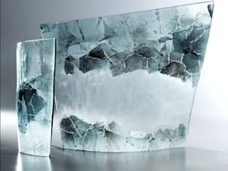 Sculptural Curves de Michelle Keeling Glass Minimalista